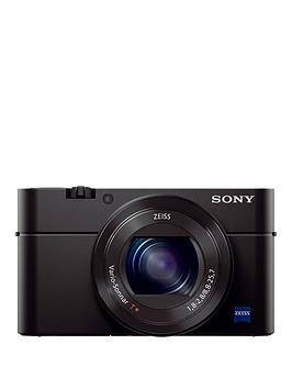 Sony Rx100 Mk Iv 20Mp 4K Video Compact Camera Dscrx100M4.Ceh  Black