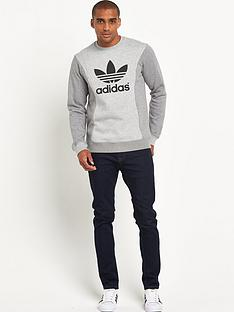 adidas-originals-melange-mens-sweatshirt-grey