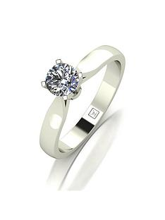 moissanite-premium-collection-9ct-white-gold-50-point-4-claw-high-setting-solitaire-ring