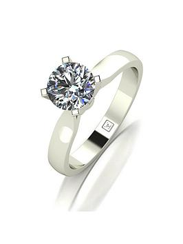 moissanite-premium-collection-9ct-white-gold-1ct-carat-4-claw-high-setting-solitaire-ring