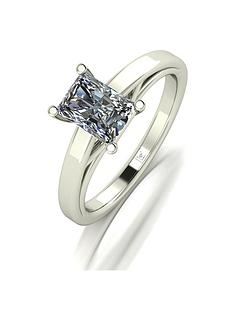 moissanite-premium-collection-9ct-white-gold-117-carat-emerald-cut-solitaire-ring