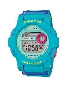 baby-g-digital-g-lide-turquoise-blue-strap-ladies-watch