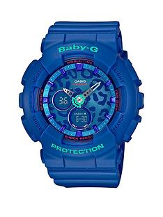 baby-g-casio-baby-g-leopard-face-blue-resin-strap-ladies-watch