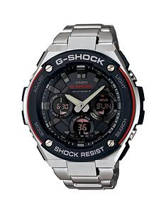 casio-g-shock-casio-g-shock-chronograph-black-dial-with-stainless-steel-case-and-bracelet-mens-watch