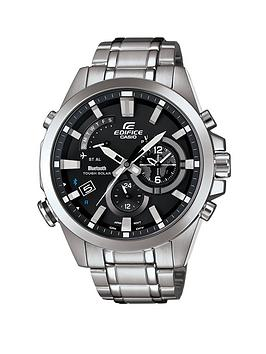 Casio Edifice Stainless Steel Case And Bracelet Mens Watch