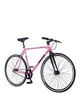 700CFixed Pink and Black Bike
