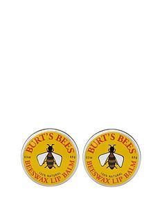 burts-bees-lip-balm-tin-beeswax-85g-x-2