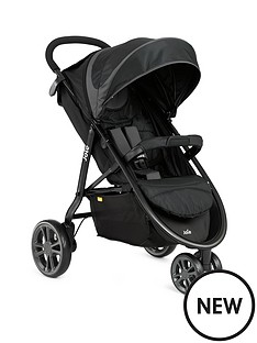 joie-litetrax-3-wheeler-with-footmuff