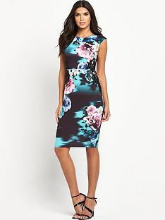 lipsy-blue-floral-bodycon-dress