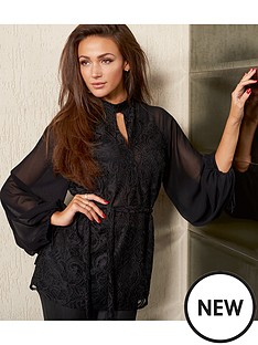 lipsy-lipsy-michelle-keegan-high-neck-ls-lace-blouse