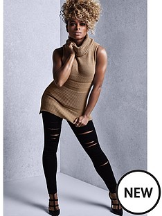 lipsy-by-fleur-east-sleeveless-knitted-roll-neck