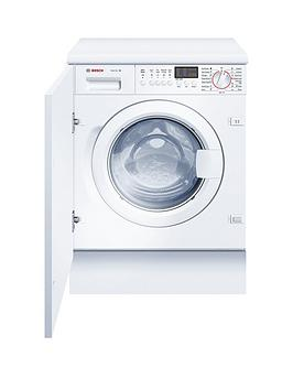 Bosch Wis28441Gbb 7Kg Load 1400 Spin Integrated Washing Machine  White