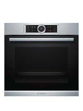Bosch   Serie 8 Hbg634Bs1B Built-In Electric Single Oven - Stainless Steel