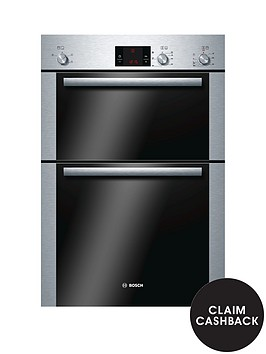 bosch-hbm13b251bnbspbuilt-in-electric-double-oven-brushed-stainless-steel