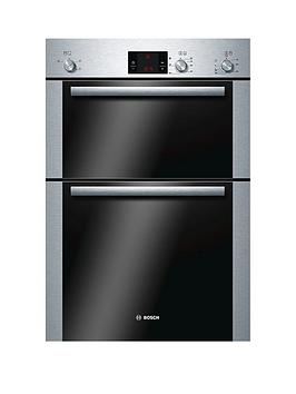 Bosch Hbm13B251B BuiltIn Electric Double Oven  Brushed Stainless Steel