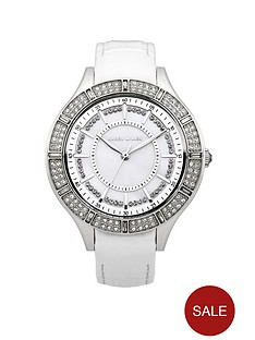 karen-millen-white-mother-of-pearl-dial-with-white-leather-strap-ladies-watch