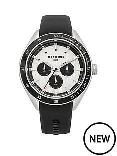 ben-sherman-ben-sherman-white-multi-dial-with-black-silicone-strap-mens-watch