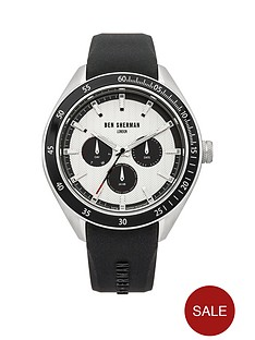 ben-sherman-ben-sherman-white-multi-dial-with-black-silicone-strap-mens-watch
