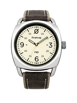 firetrap-champagne-dial-with-grey-canvas-strap-mens-watch