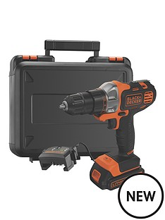 black-decker-mt218k-gb-18vampnbspmultievoampnbspmulti-tool-with-drilldriver-head-and-kitbox