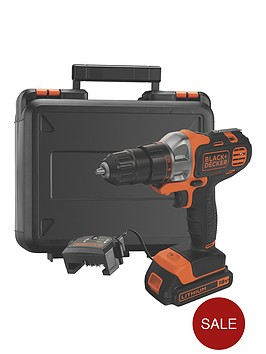 black-decker-mt218k-gb-18vnbspmultievonbspmulti-tool-with-drilldriver-head-and-kitbox