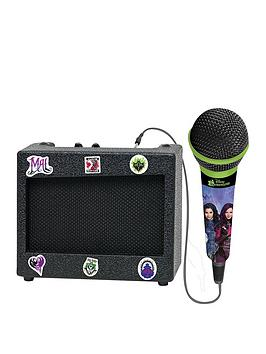 lexibook-k900tdnbspthe-descendants-portable-karaoke-set-with-mic