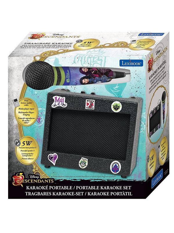 K900TD The Descendants Portable Karaoke Set With Mic