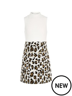 river-island-girls-animal-high-neck-a-line-dress