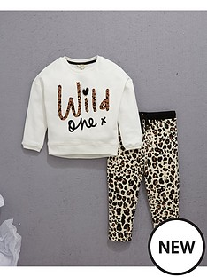river-island-mini-mini-girls-slogan-sweater-and-leopardnbspjoggers-2-piece