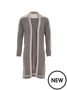 river-island-metallic-sheer-panel-longline-cardi