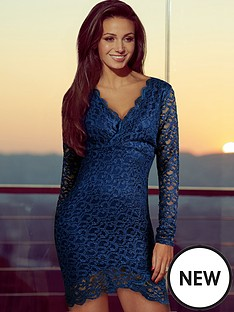 lipsy-michelle-keegan-asymmetric-hem-lace-dress