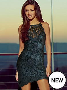 lipsy-michelle-keegan-lace-high-neck-dress