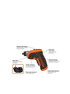 black-decker-cs3652lc-gb-36-volt-cordless-lithium-ion-screwdrivernbspfree-prize-draw-entry