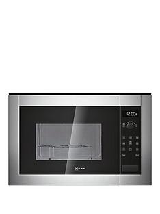 neff-h12ge60n0gnbspintegrated-microwave-oven-stainless-steel