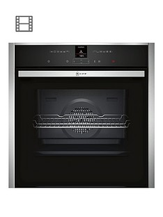 neff-b17cr32n1bnbspbuilt-in-single-oven-withnbspcircothermreg-stainless-steel