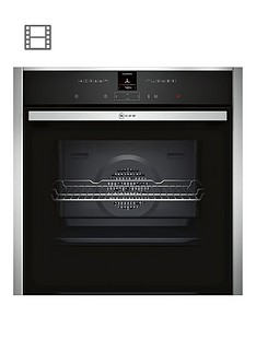 neff-b27cr22n1bnbspbuilt-in-electricnbspsingle-oven-with-circothermreg-stainless-steel