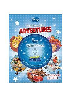 disney-my-favourite-adventures-5-book-ampamp-cd-slipcase-read-along