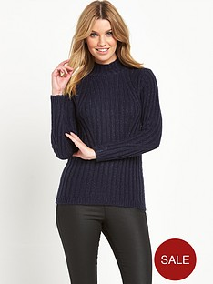south-funnel-neck-metallic-yarn-jumpernbsp