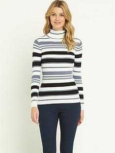 south-skinny-ribbed-stripe-jumpernbsp