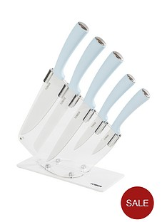 tower-5-piece-knife-set-with-acrylic-stand