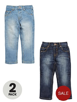 ladybird-boys-jeans-2-pack-light-and-dark-wash