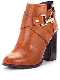 miss-selfridge-snaffle-tan-trim-boot