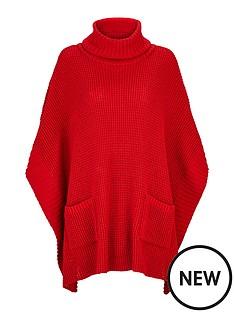wallis-wallis-knitted-poncho