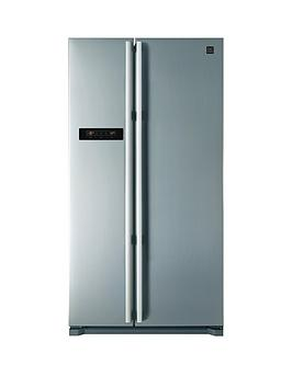 Daewoo FRAX22B3S USA Style Fridge Freezer