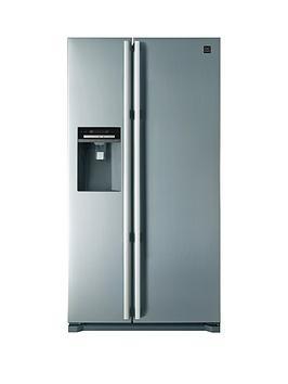 Daewoo FRAX22NP3S NonPlumbed USA Style fridge Freezer