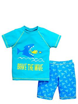 ladybird-boys-brave-the-waves-sunsafenbsptop-and-shorts-set