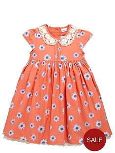 ladybird-girls-crochet-collar-floral-dress