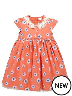 ladybird-toddler-girls-crochet-collar-dress