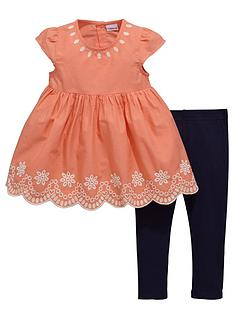 ladybird-girls-embroidered-tunic-and-leggings-set-2-piece
