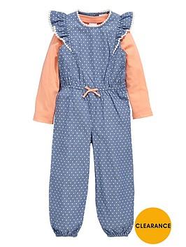 ladybird-girls-frill-jumpsuit-and-t-shirt-set-2-piece-12-months-7-years